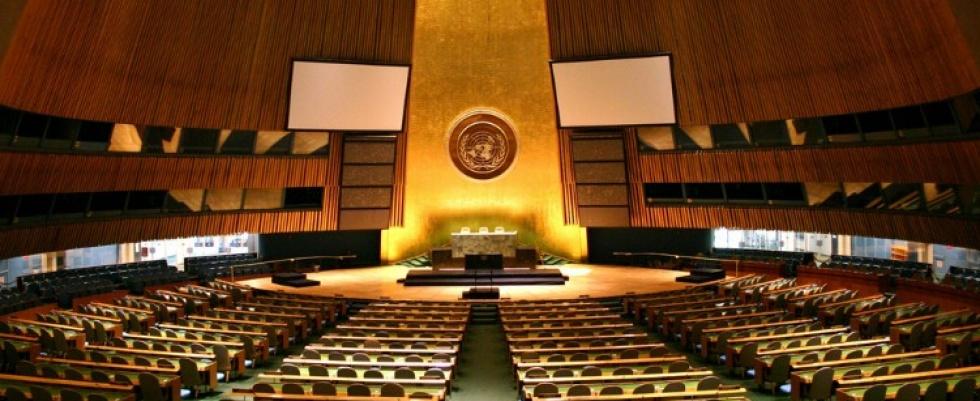 Alunos do ensino médio participam de simulações da ONU